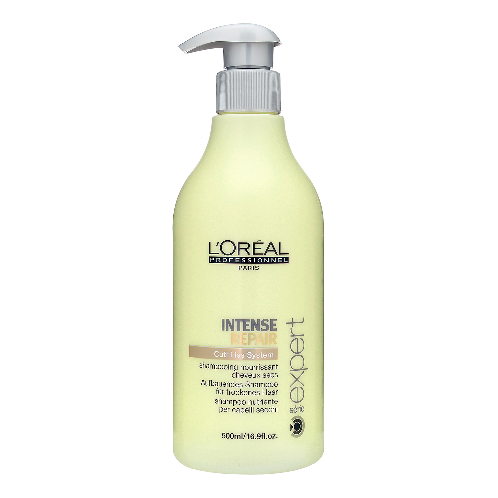 L'Oréal Paris Série Expert Intense Repair  Cuti Liss System Shampoo (For Dry Hair) 16.9oz, 500ml LRE0100153-000-00
