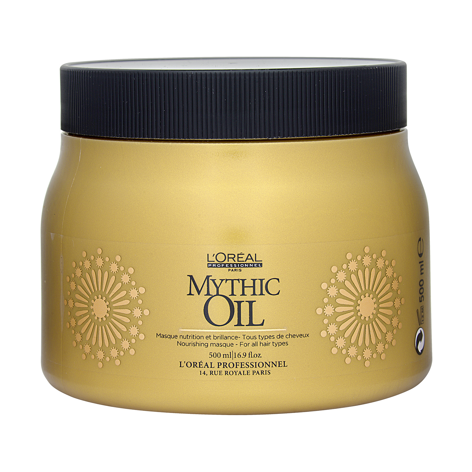 L'Oréal Paris Mythic Oil  Nourishing Masque (For All Hair Types) 16.9oz, 500ml