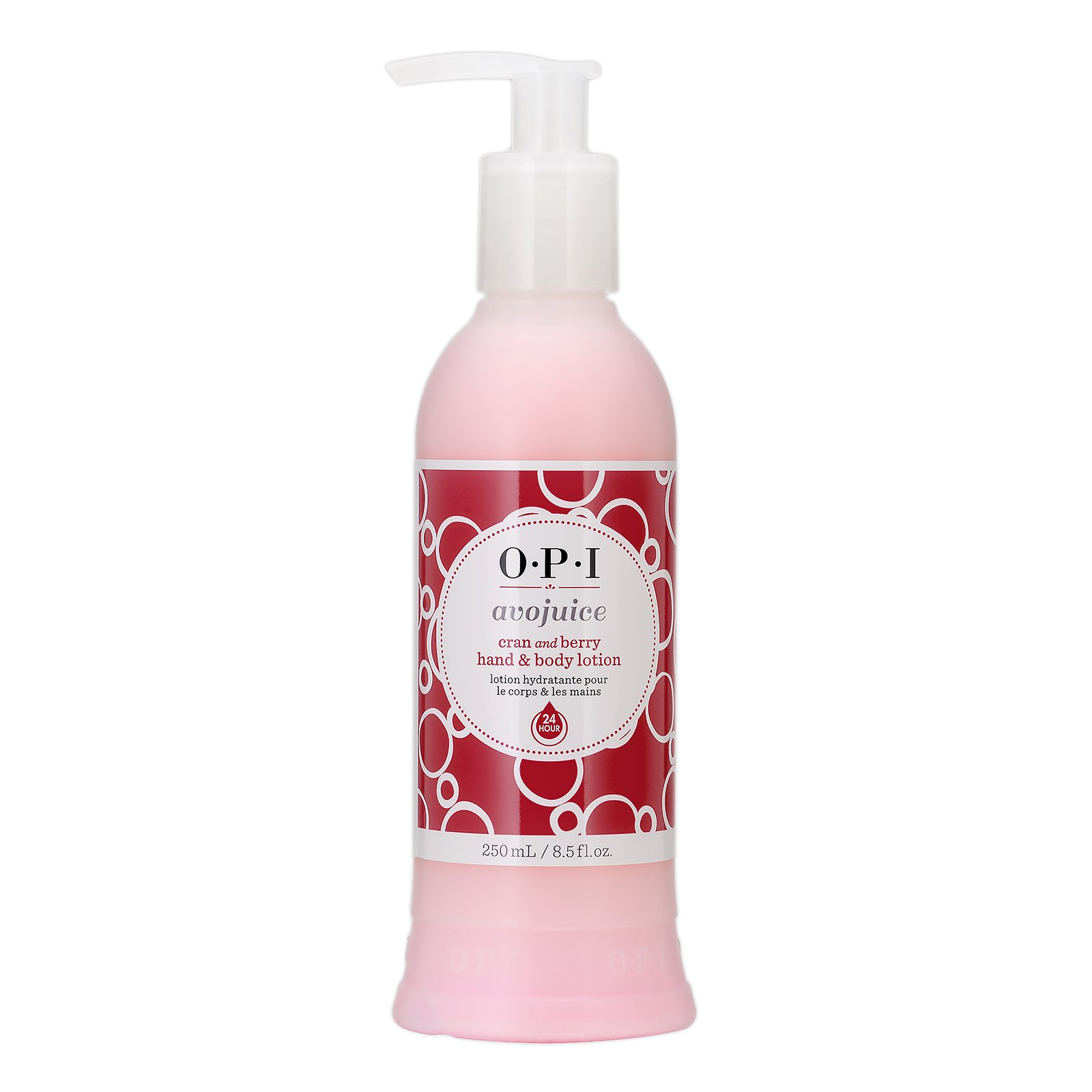 OPI Avojuice Cran And Berry Juice Hand And Body Lotion Cran and Berry, 8.5oz, 250ml from Cosme-De.com