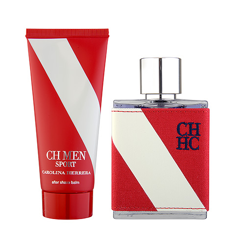 Carolina Herrera CH MEN Sport EDT 2-Piece Set 1set, 2pcs 100ml 3.4oz Aftershave