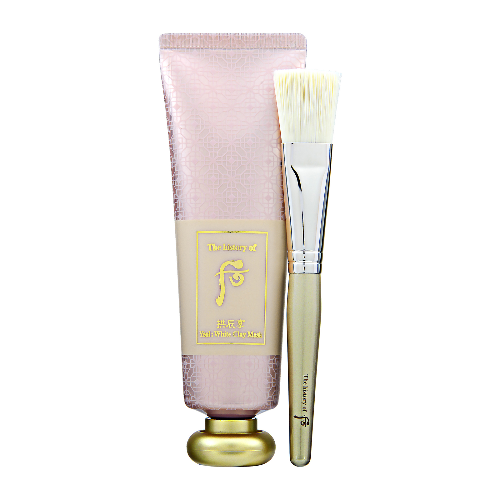 The History of Whoo Gongjinhyang  Yeol: White Clay Mask 80ml,