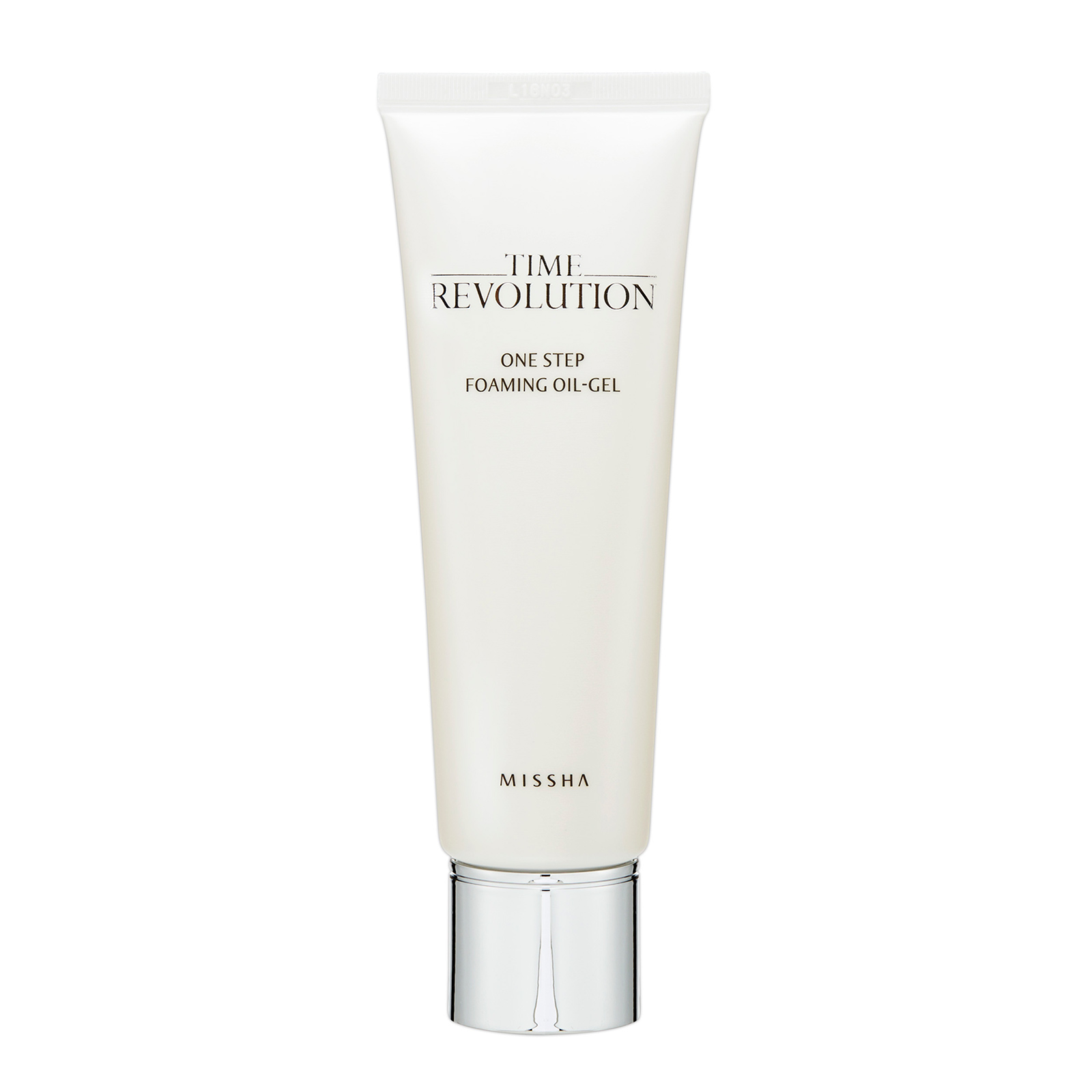 Missha Time Revolution  One Step Foaming Oil-Gel 125ml, from Cosme-De.com