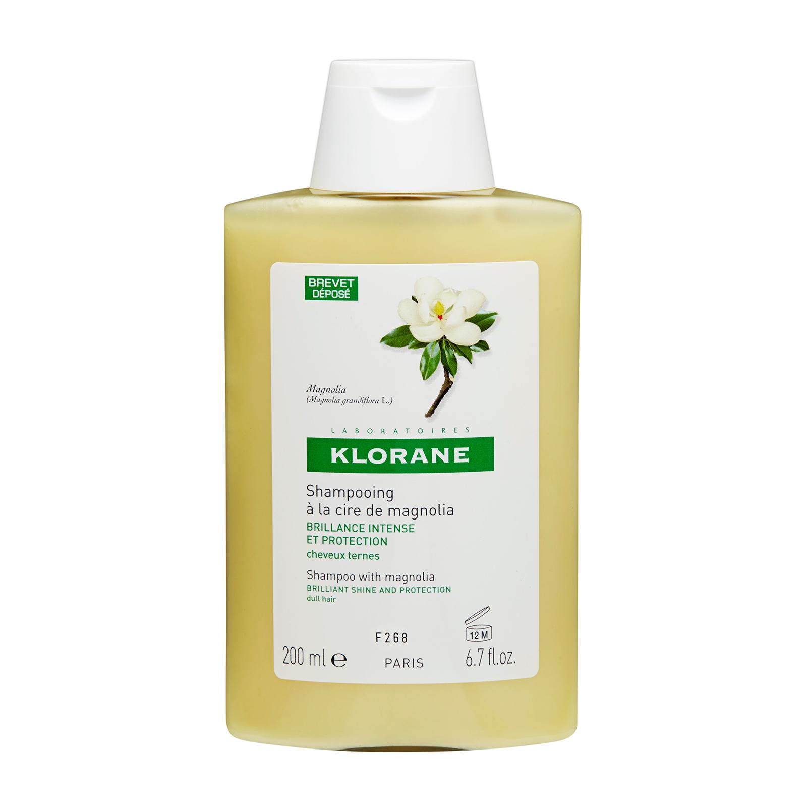 Klorane  Shampoo With Magnolia - Brilliant Shine & Protection (Dull Hair) 6.7oz, 200ml