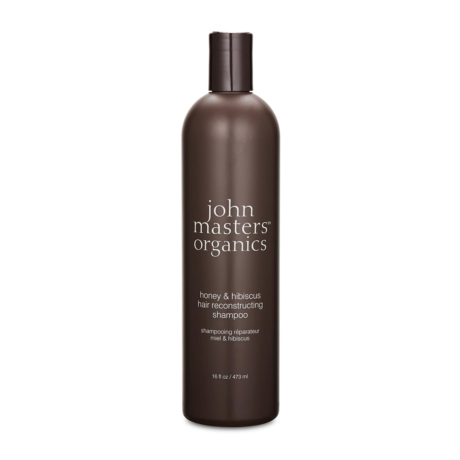 John Masters Organics  Honey & Hibiscus Hair Reconstructing Shampoo 16oz, 473ml