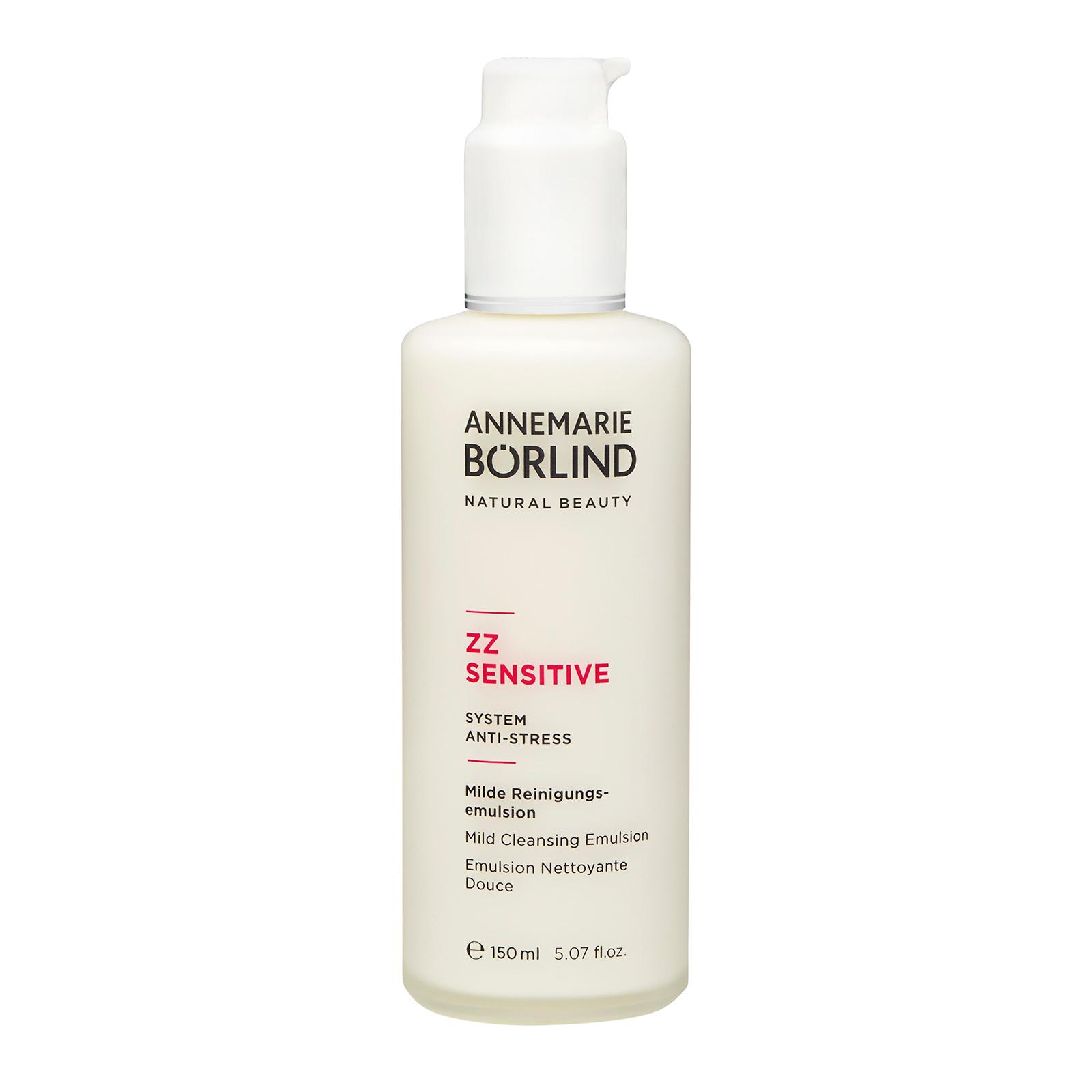 Annemarie Borlind ZZ Sensitive Mild Cleansing Emulsion 5.07oz, 150ml
