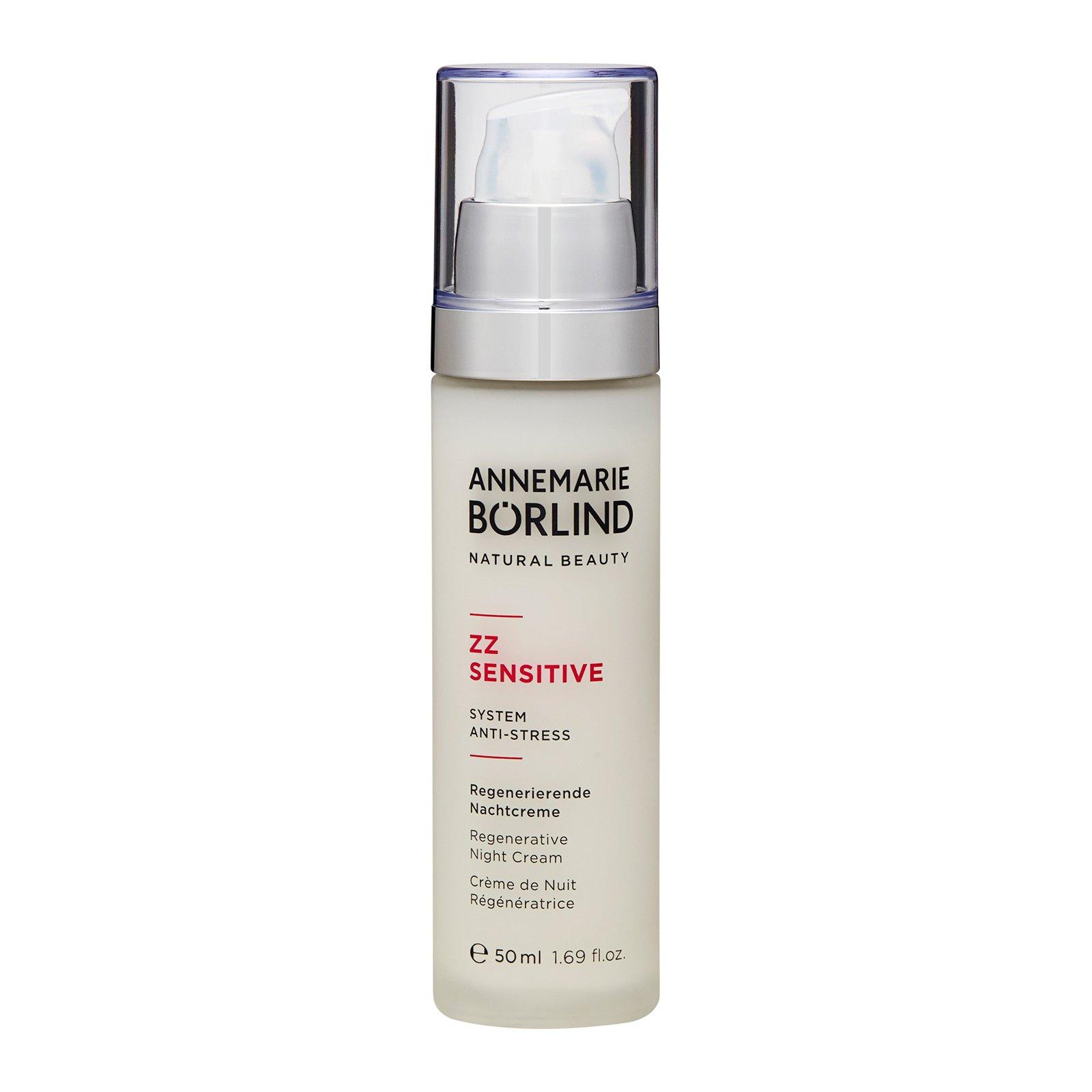 Annemarie Borlind ZZ Sensitive Regenerative Night Cream 1.69oz, 50ml