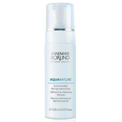 Annemarie Borlind Aquanature Refreshing Cleansing Mousse 5.07oz, 150ml