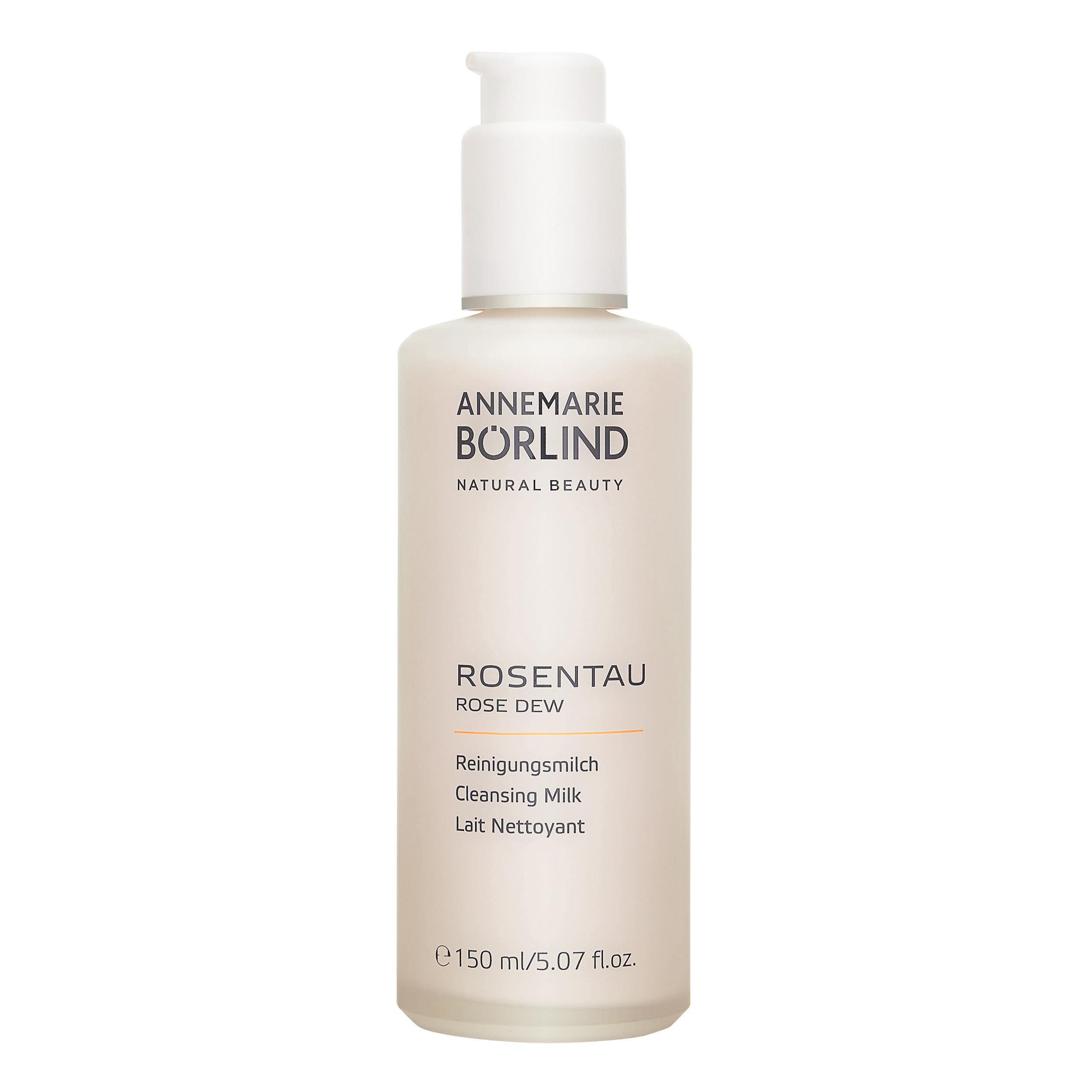 Annemarie Borlind Rose Dew Cleansing Milk 5.07oz, 150ml