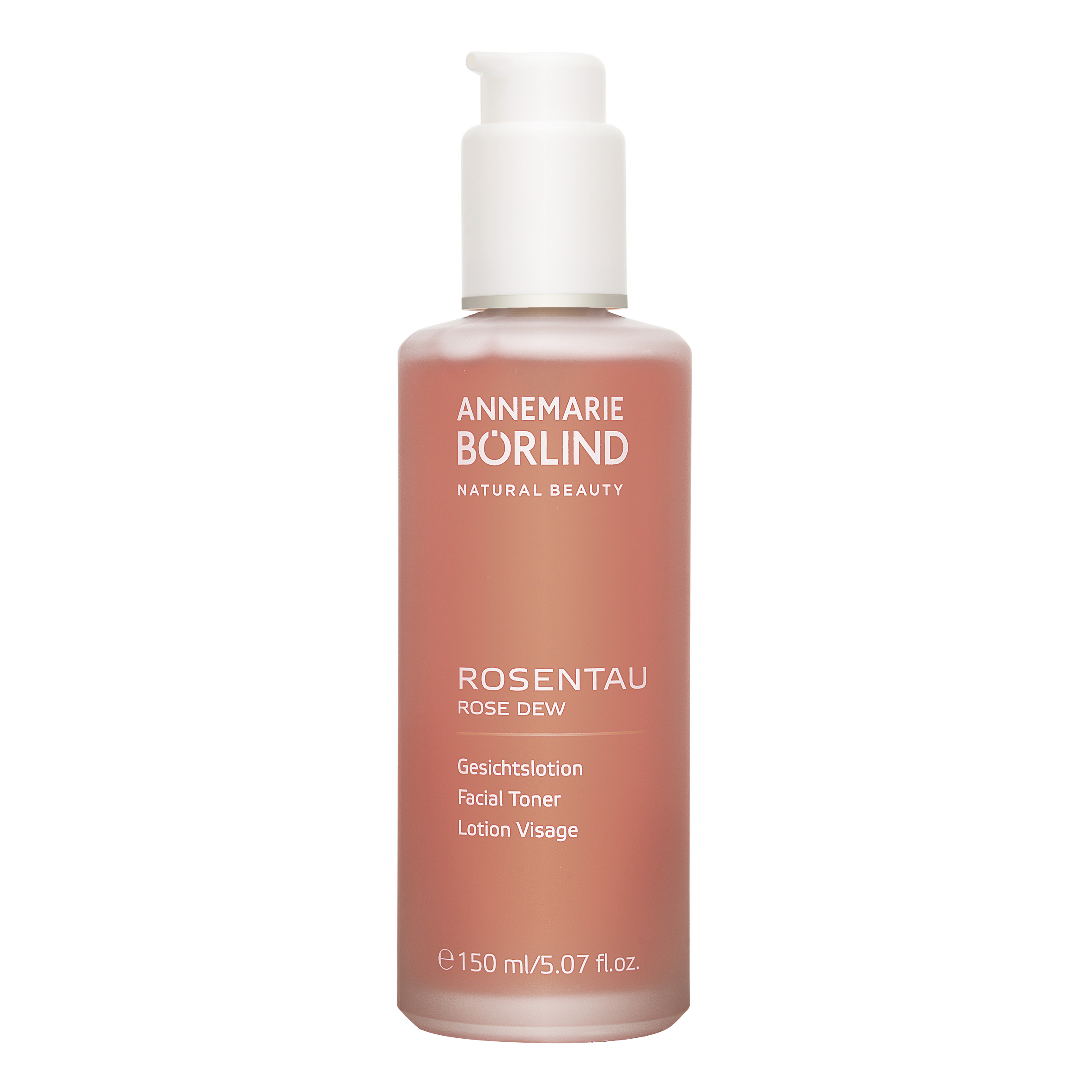 Annemarie Borlind Rose Dew Facial Toner 5.07oz, 150ml