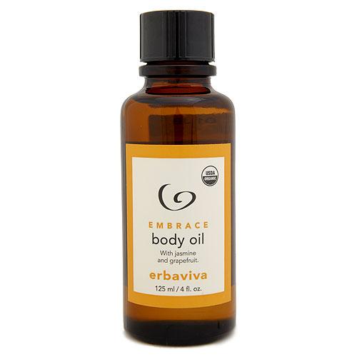 Erbaviva Embrace Body Oil 4oz, 125ml