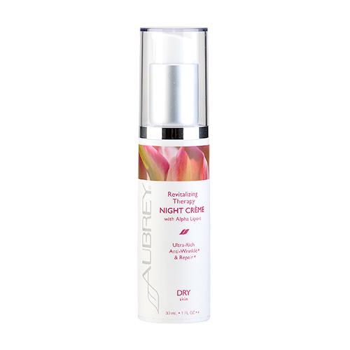 Aubrey Organics Revitalizing Therapy Night Crème (dry Skin) 1oz, 30ml