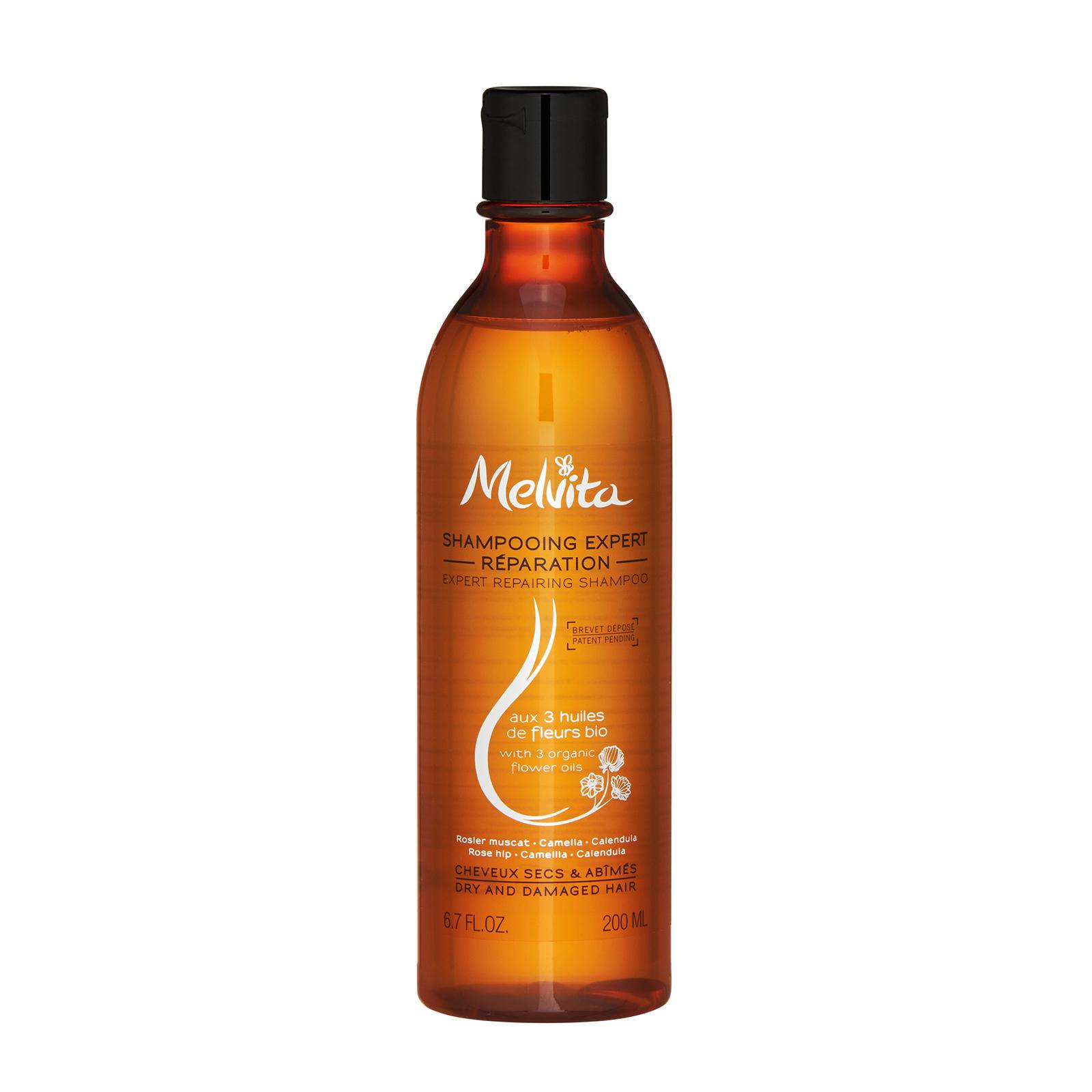 Melvita  Expert Repairing Shampoo (For Dry and Damaged Hair) 6.7oz, 200ml