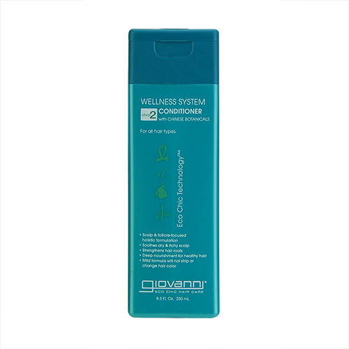 Giovanni Wellness System Conditioner With Chinese Botanicals (For All Hair Types) 8.5oz, 250ml
