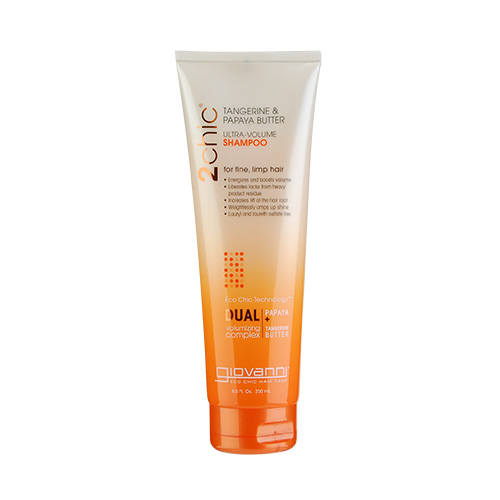 Giovanni 2chic Ultra Volume Tangerine & Papaya Butter Shampoo (For Fine And Limp Hair) 8.5oz, 250ml