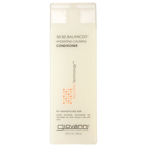Giovanni  50:50 Balanced Hydrating-Claming Conditioner (for Normal to Dry Hair) 8.5oz, 250ml
