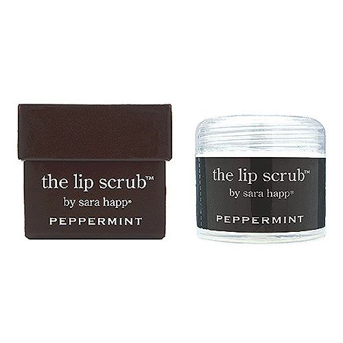 sara happ The Lip Scrub Peppermint, 1oz, 30g