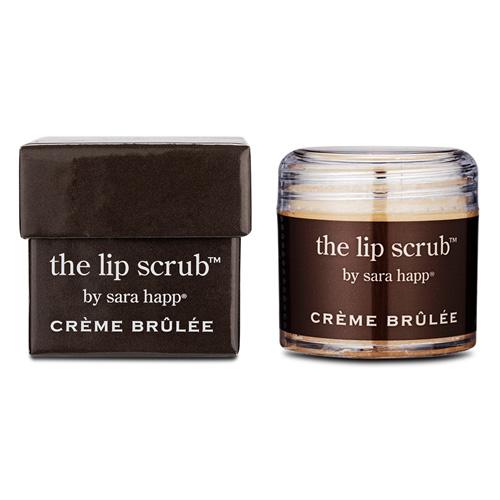 sara happ The Lip Scrub Creme Brulee, 1oz, 30g
