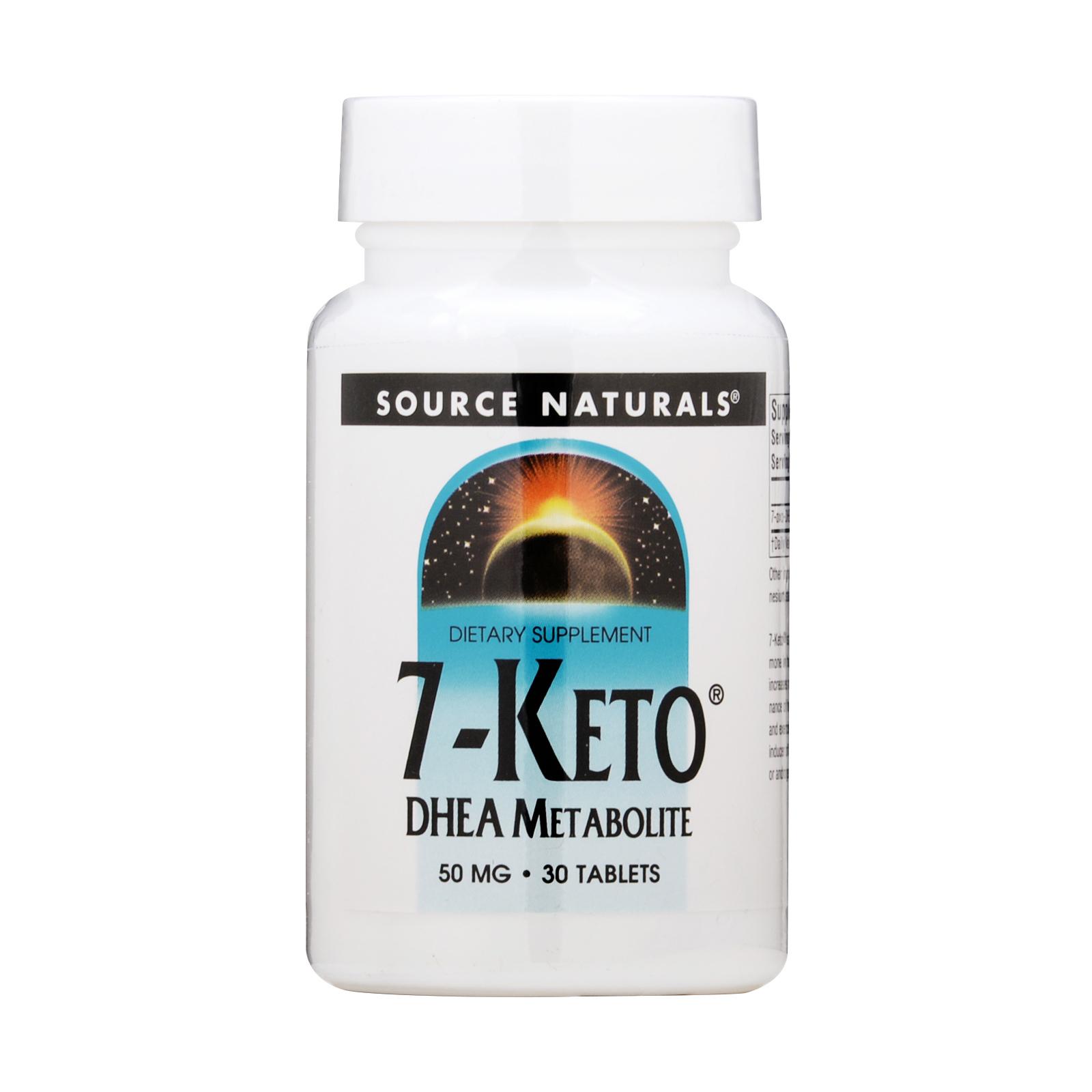 SOURCE NATURALS  7-Keto DHEA Metabolite 30x 50mg,