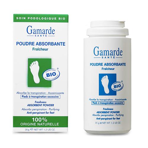 GamARde  Poudre Absorbante Freshness Absorbent Powder (Anti-Perspirant for Feet)  1.2oz, 35ml