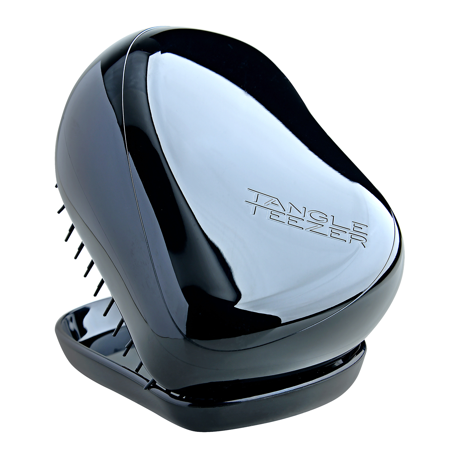 Tangle Teezer Compact Styler  The Instant Detangling Hairbrush Rock Star Black, 1pc, from Cosme-De.com