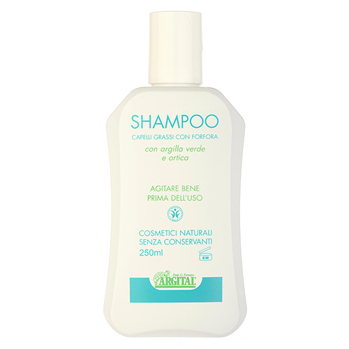 Argital  Shampoo with Green Clay and Nettle (For Greasy Hair and Dandruff) 250ml,