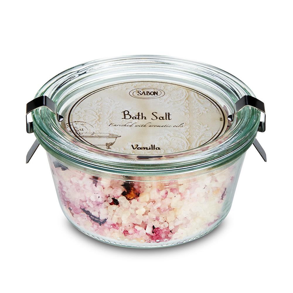 Sabon Bath Salt Vanilla, 8.8oz, 250ml