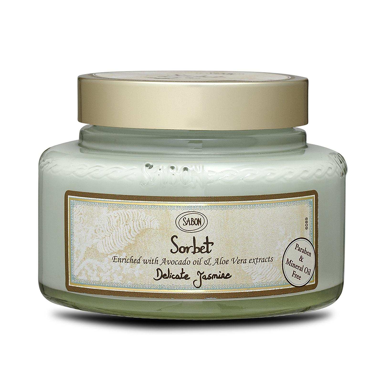Sabon  Sorbet Body Gel Delicate Jasmine, 7oz, 200ml