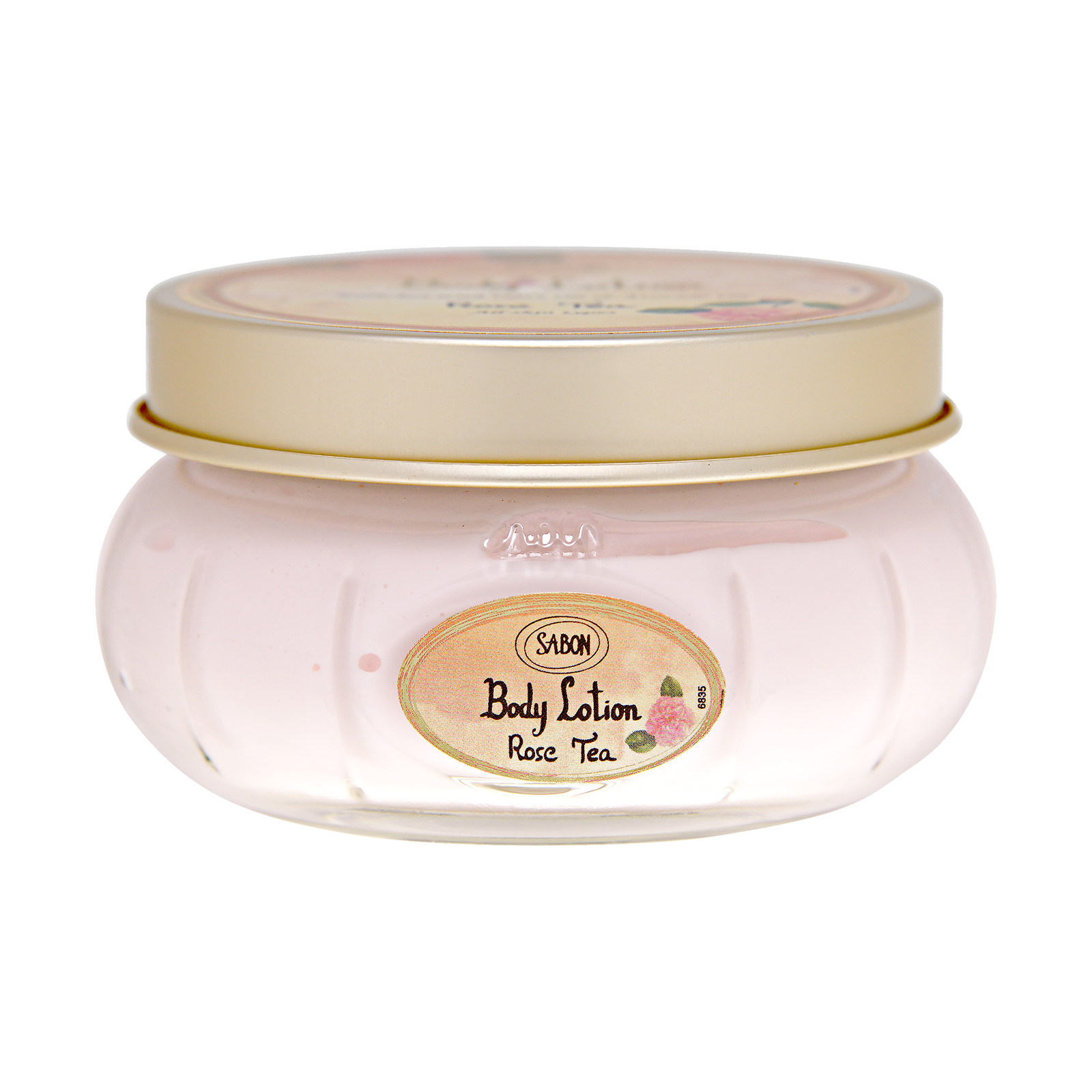 Sabon  Body Lotion (Jar) Rose Tea, 7oz, 200ml
