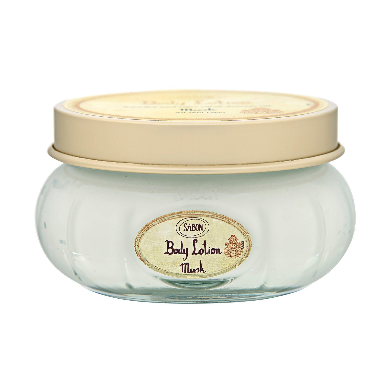 Sabon  Body Lotion (Jar) Musk, 7oz, 200ml