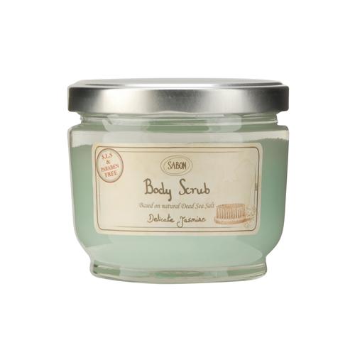 Sabon  Body Scrub Delicate Jasmine, 21.2oz, 600g