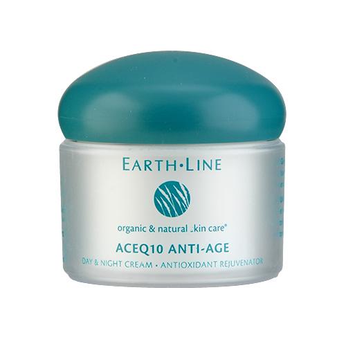Earth Line ACEQ10 Anti-Age Day & Night Cream 1.75oz, 50ml