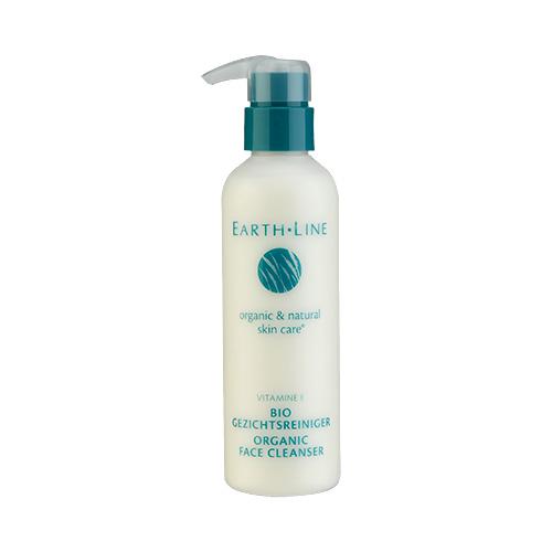 Earth Line Vitamin E Organic Face Cleanser 7oz, 200ml