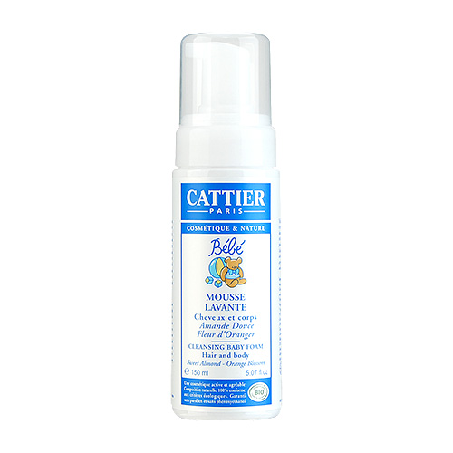 Cattier Cleansing Baby Foam 5.07oz, 150ml