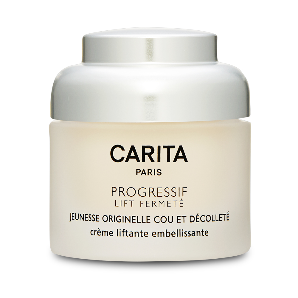 Carita Progressif Lift Fermete Neck & Decollete Lift Beautifying Cream (For Dry Skin) 1.7oz, 50ml