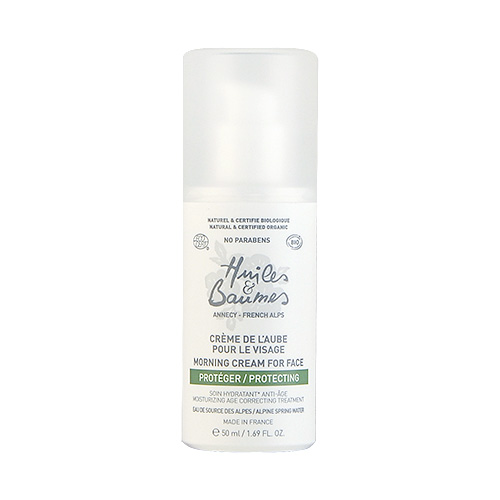 Huiles & Baumes  Morning Cream for Face  1.69oz, 50ml