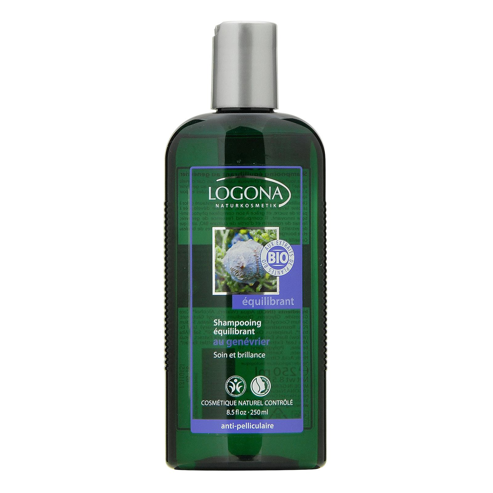 LOGONA  Juniper Oil Anti-Dandruff Shampoo 8.5oz, 250ml