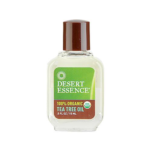Desert Essence  100% Organic Tea Tree Oil 0.5oz, 15ml