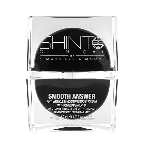 Shinto Clinical  Smooth Answer Anti-Wrinkle & Moisture Boost Cream With Omegapearl-18® 1.7oz, 50ml