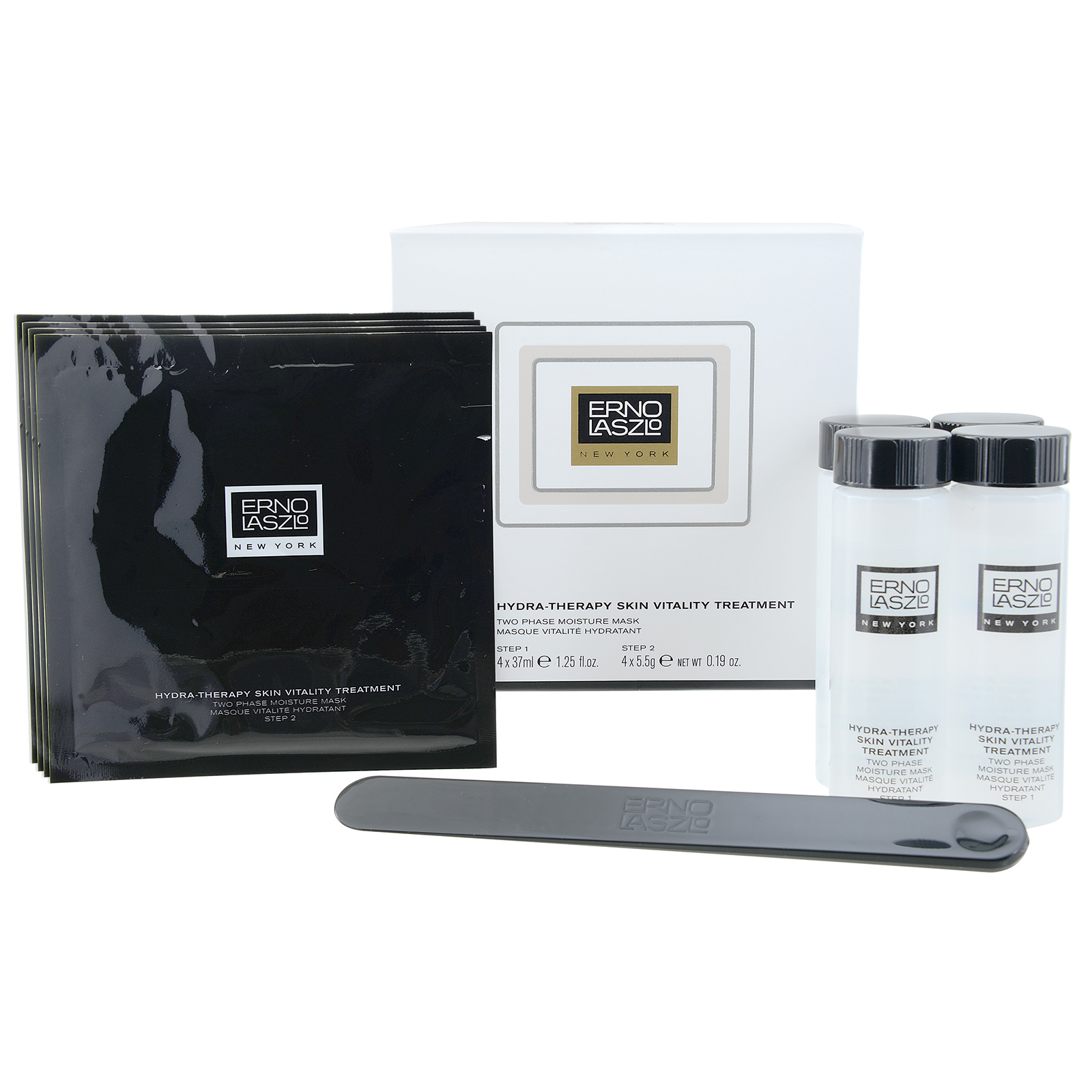 ERNO LASZLO  Hydra-Therapy Skin Vitality Treatment (For All Skin Types) 4 x 37 ml+ 4 x 5.5g, 4 x 1.25 + 4 x 0.19oz