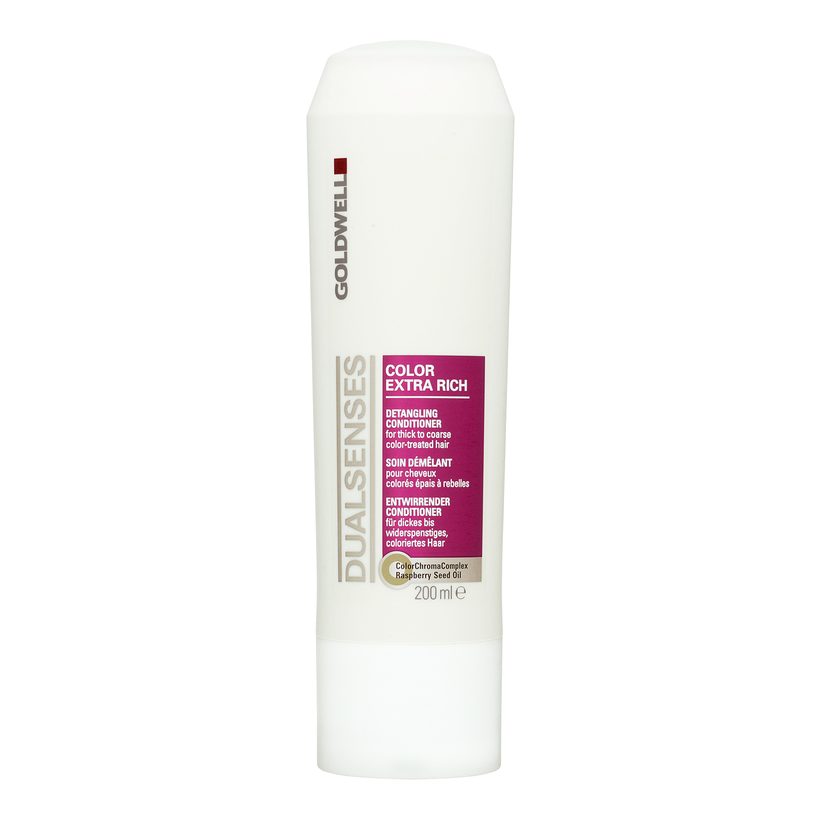 Goldwell Dualsenses Color Extra Rich  Detangling Conditioner (For Thick To Coarse Color-Treated Hair) 200ml,