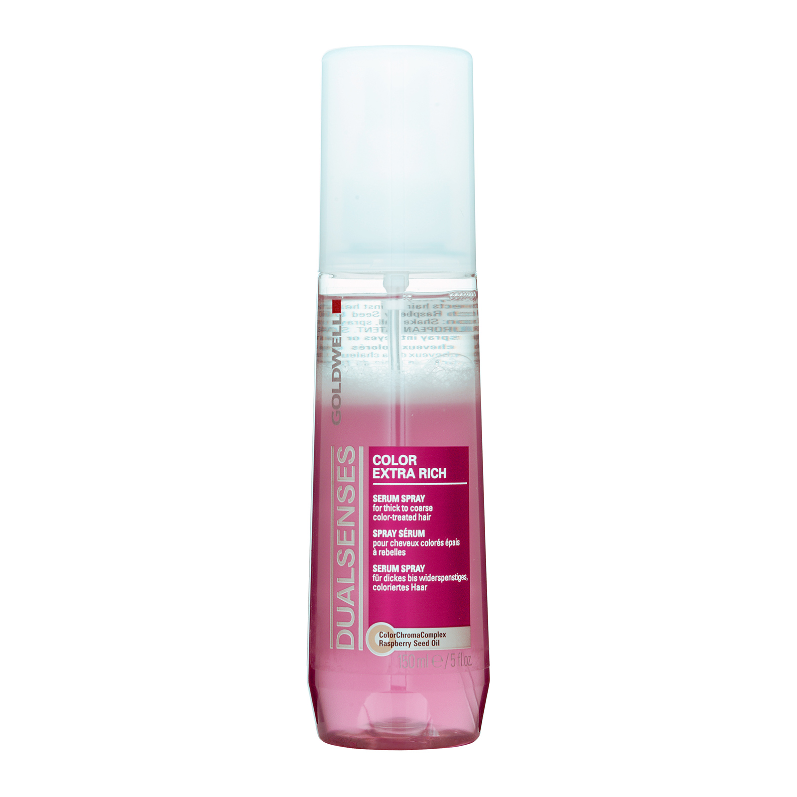 Goldwell Dualsenses Color Extra Rich  Serum Spray (For Thick To Coarse Color-Treated Hair) 5oz, 150ml