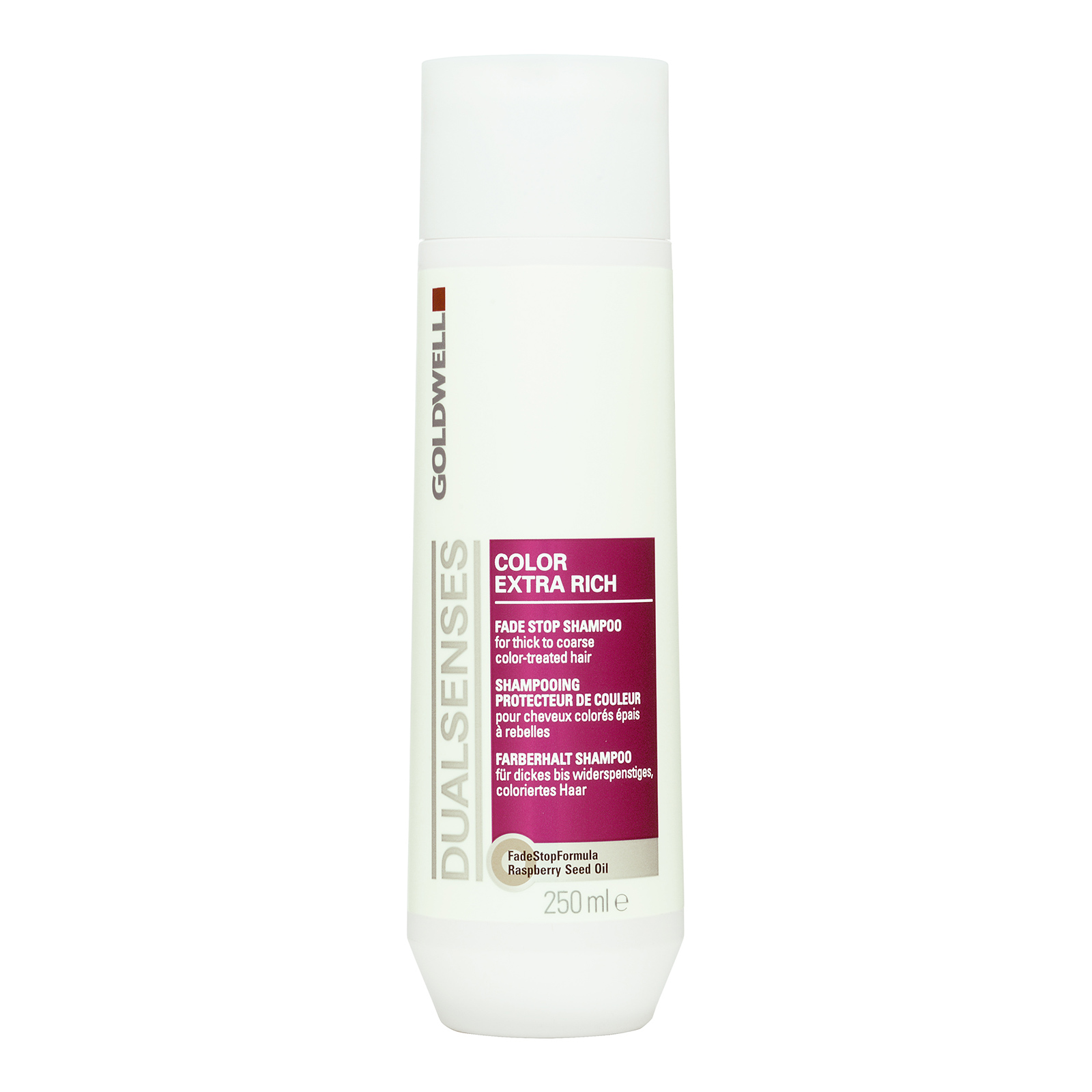 Goldwell Dualsenses Color Extra Rich  Fade Stop Shampoo (For Thick To Coarse Color-Treated Hair) 250ml,