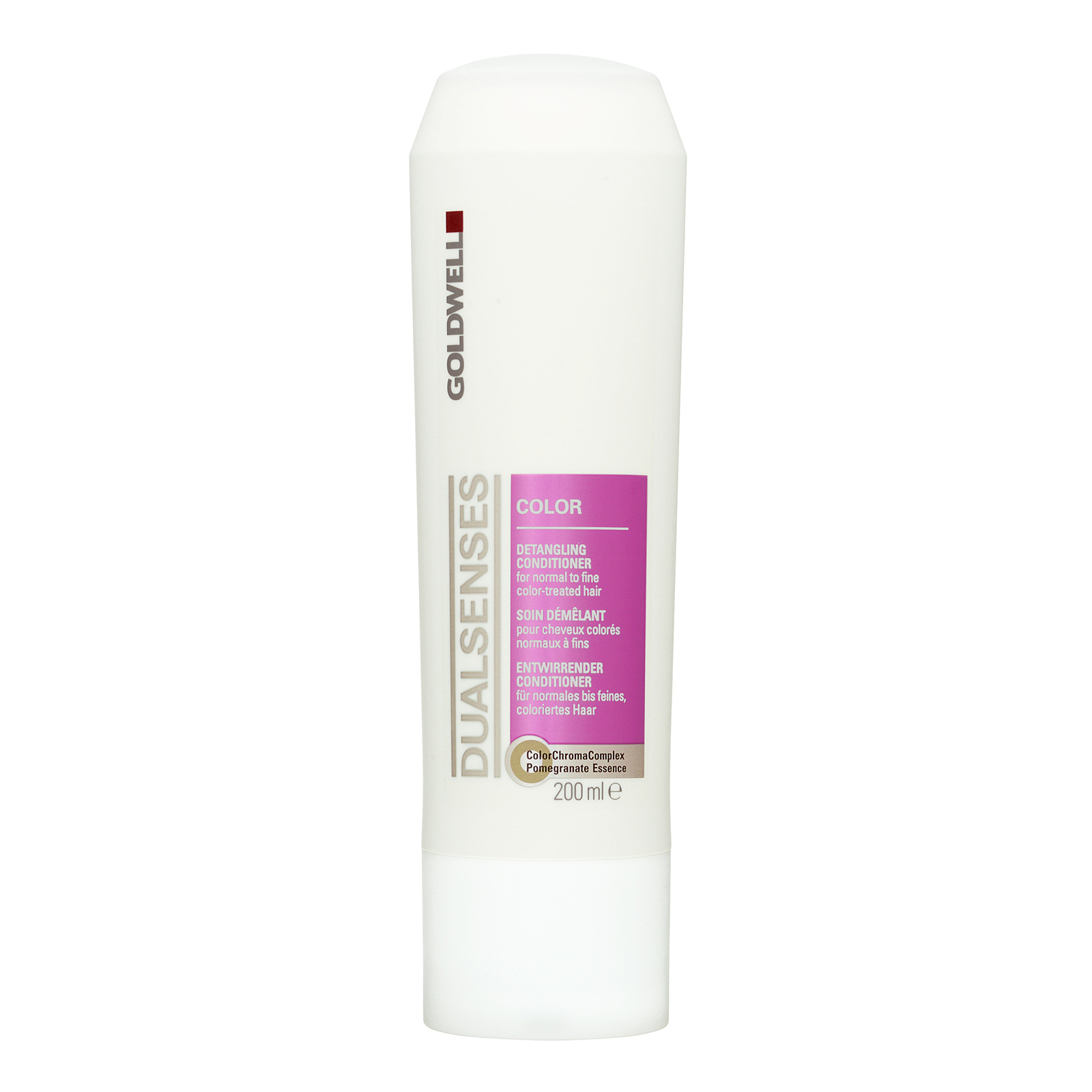 Goldwell Dualsenses Color  Detangling Conditioner (For Normal To Fine Color-Treated Hair) 200ml,