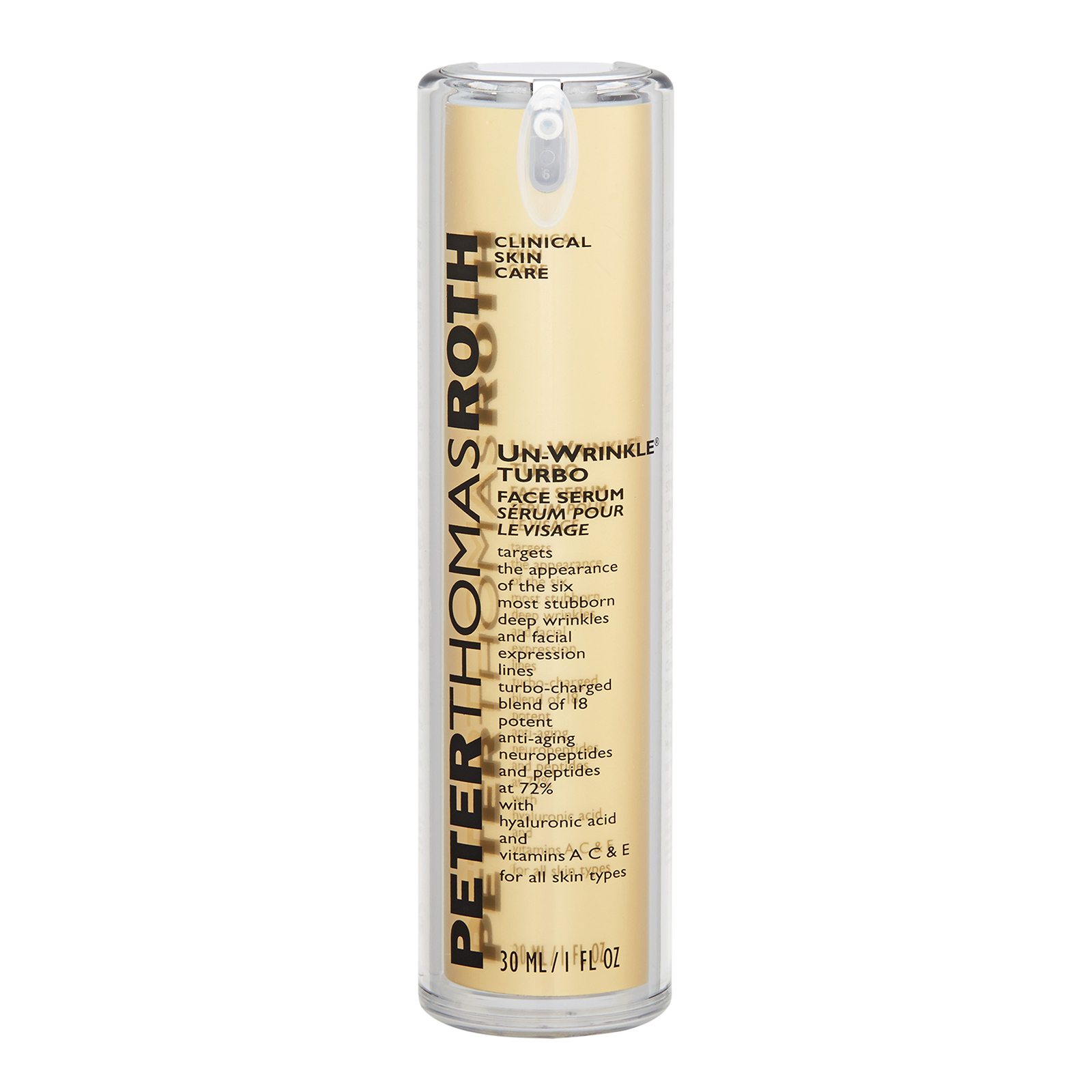 Peter Thomas Roth Un-Wrinkle  Turbo Face Serum (For All Skin Types) 1oz, 30ml