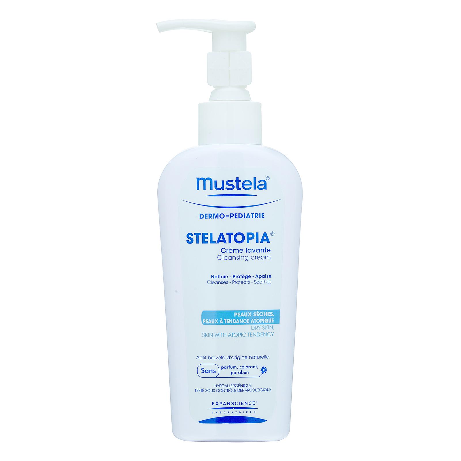 Mustela STELATOPIA  Cleansing Cream (Dry Skin - Skin With Atopic Tendency) 200ml,