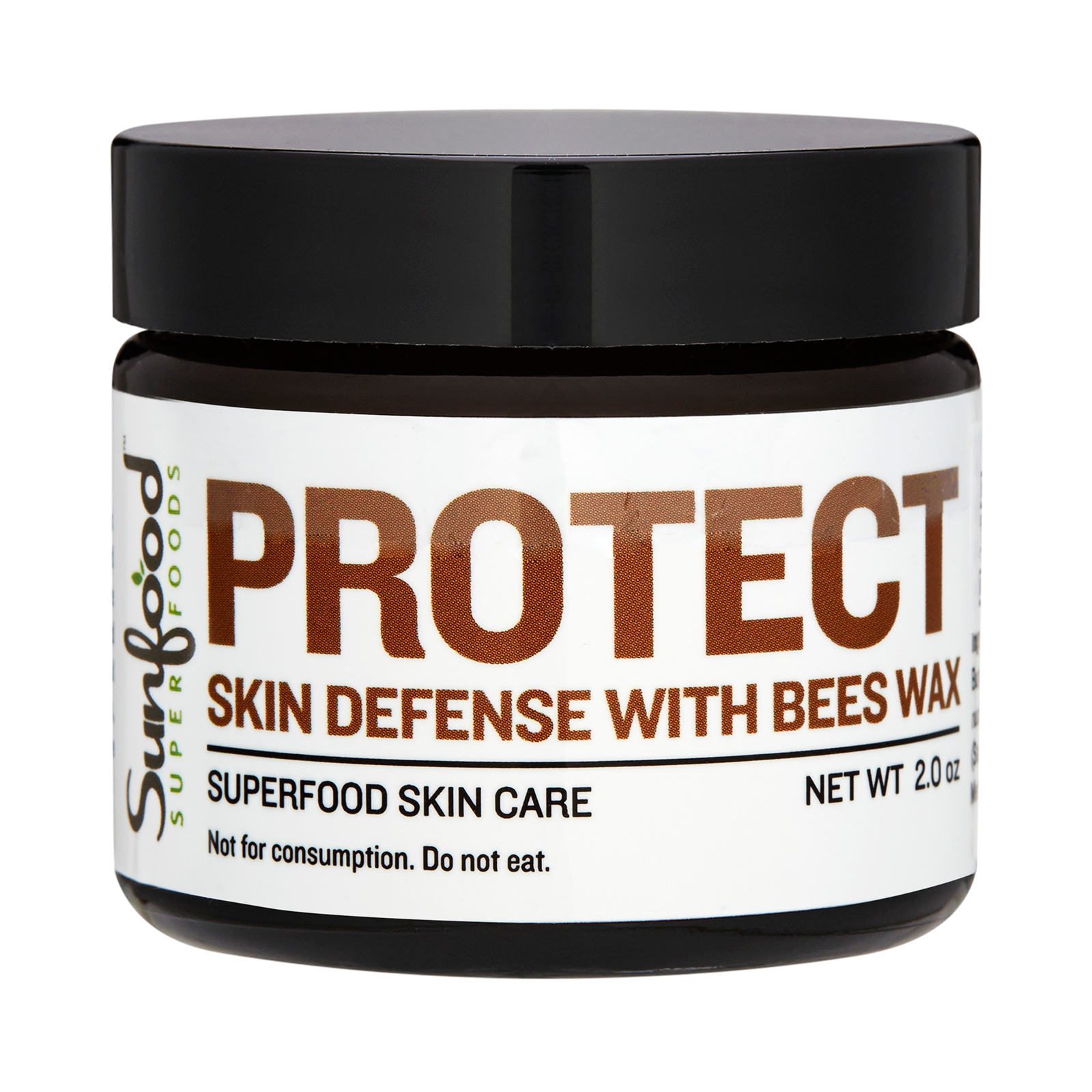 Sunfood  Protect Skin Defense with Bees Wax 2oz,