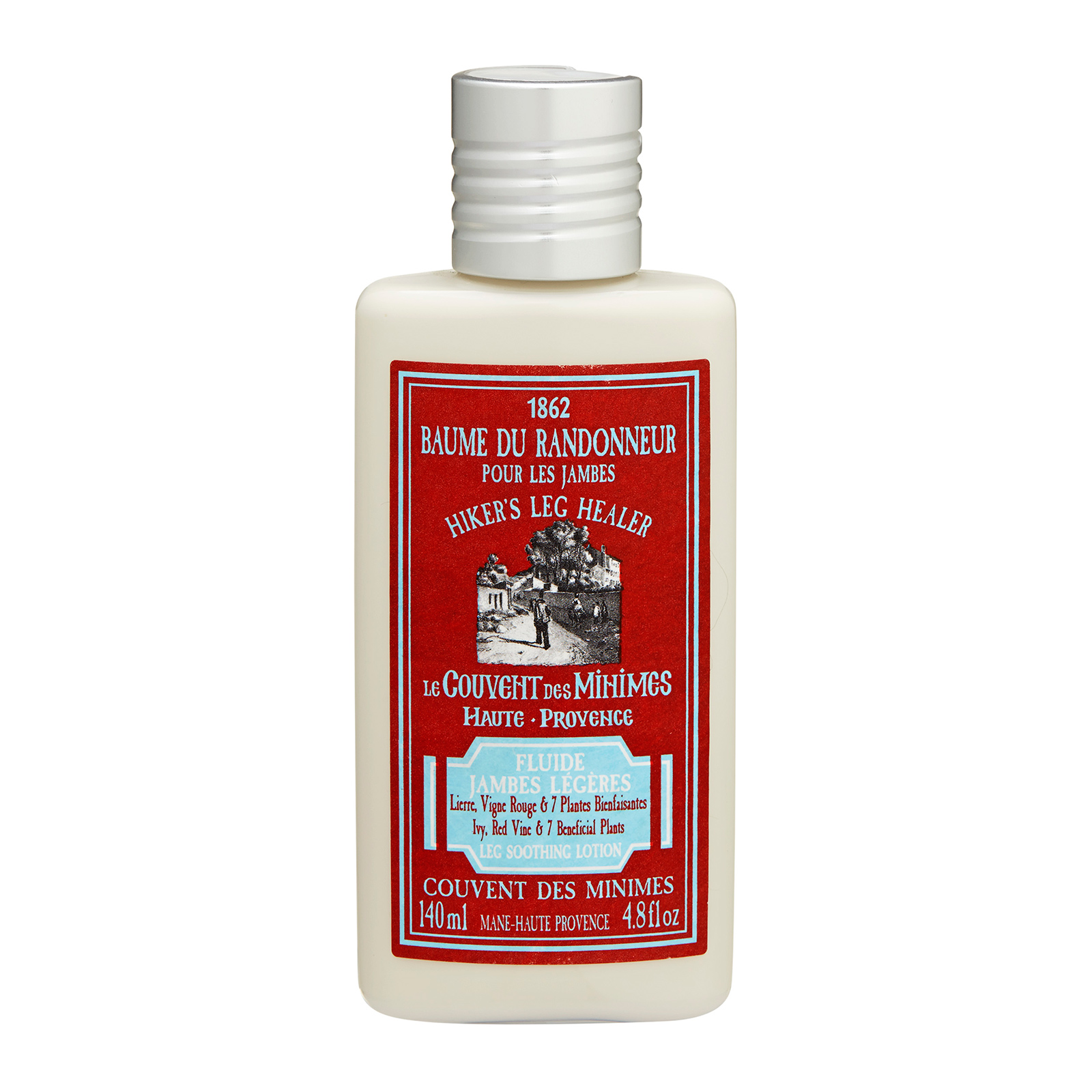 Le Couvent des Minimes Hiker's Leg Healer Leg Soothing Lotion 4.8oz, 140ml