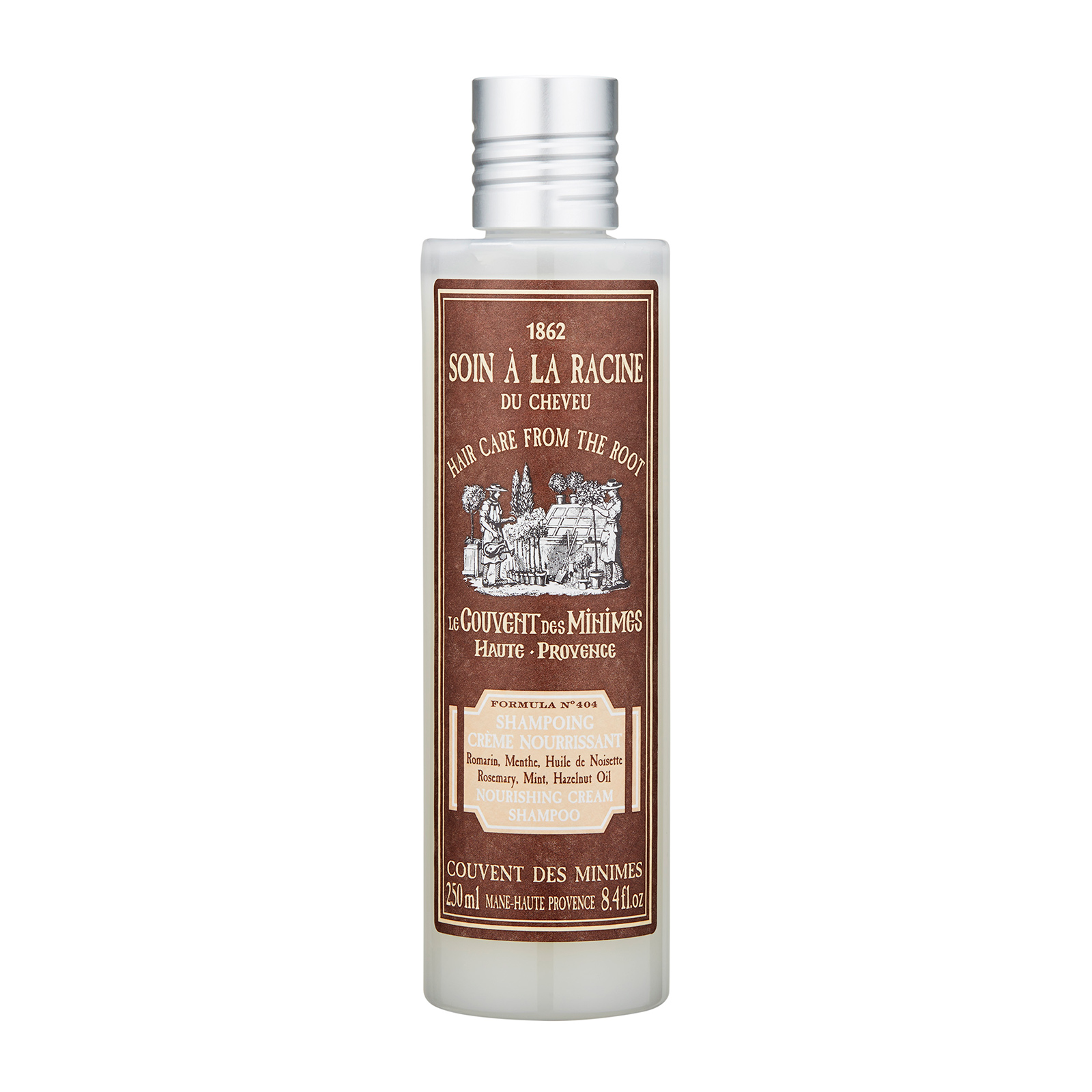 Le Couvent des Minimes Hair Care from the Root Nourishing Cream Shampoo 8.4oz, 250ml