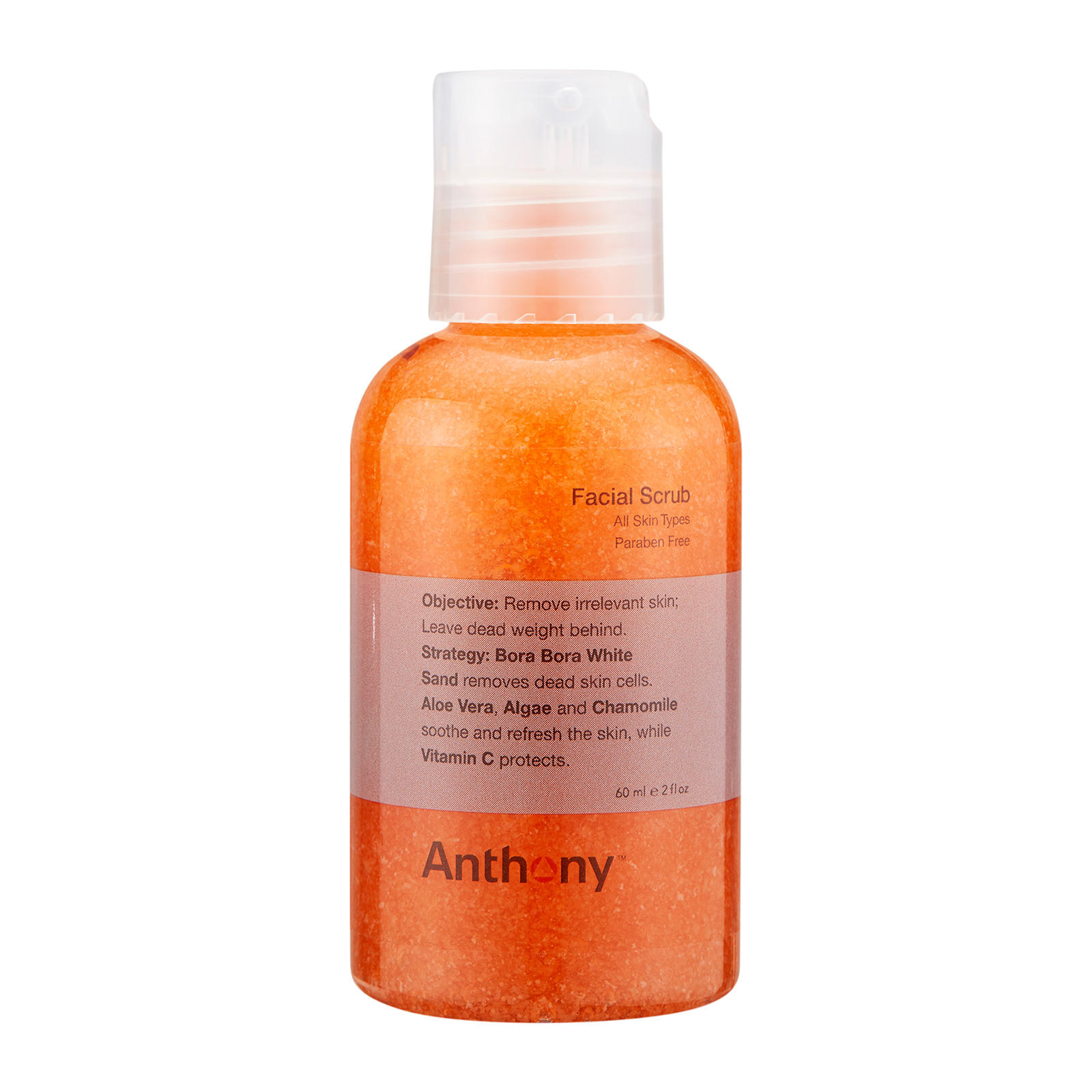 Anthony  Facial Scrub (For All Skin Types) 2oz, 60ml ALX0100002-000-00
