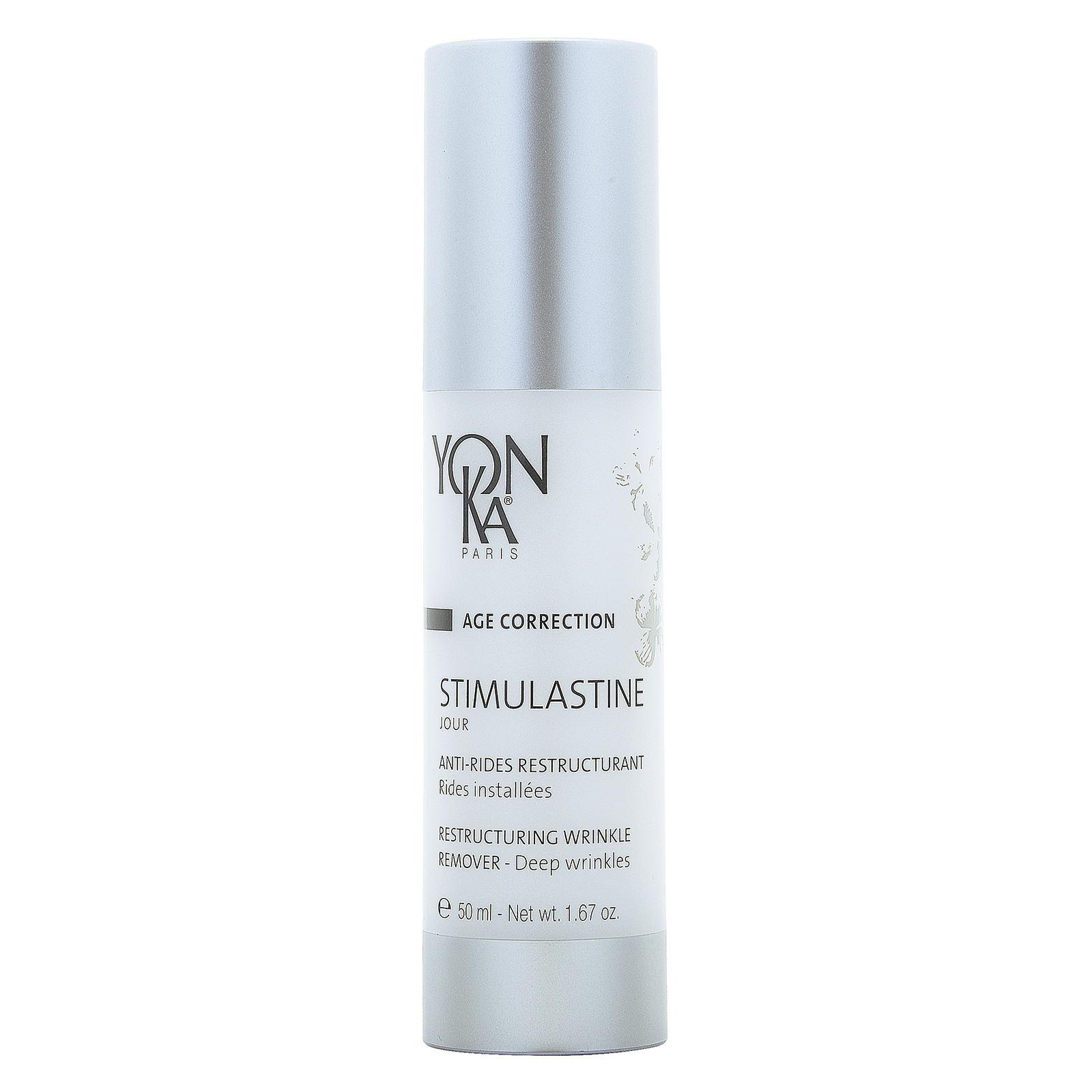 YON-KA Age Correction Stimulastine Jour Day Cream (Restructuring Wrinkle Remover) 1.67oz, 50ml